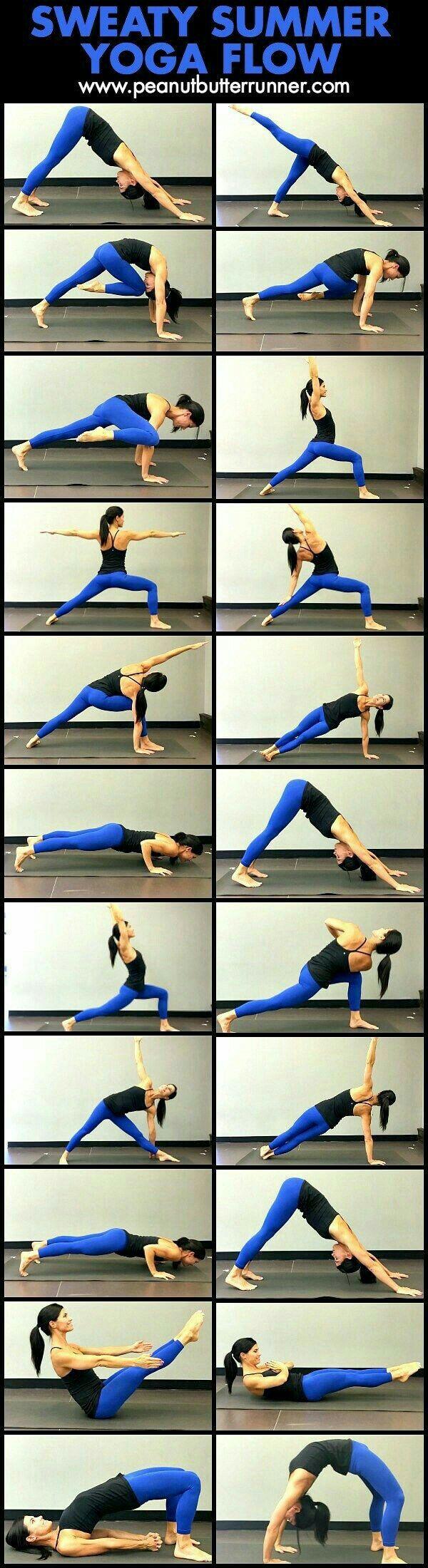 Sweaty summer yoga flow