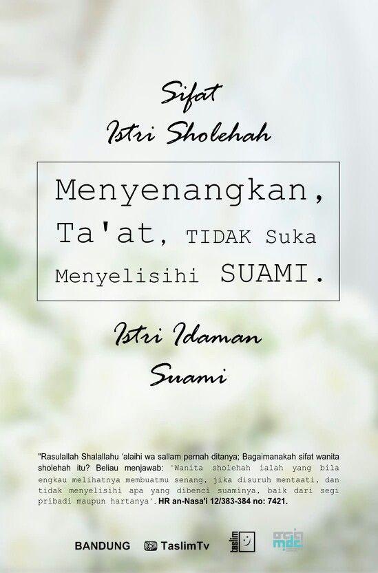 Sifat Istri Sholehah