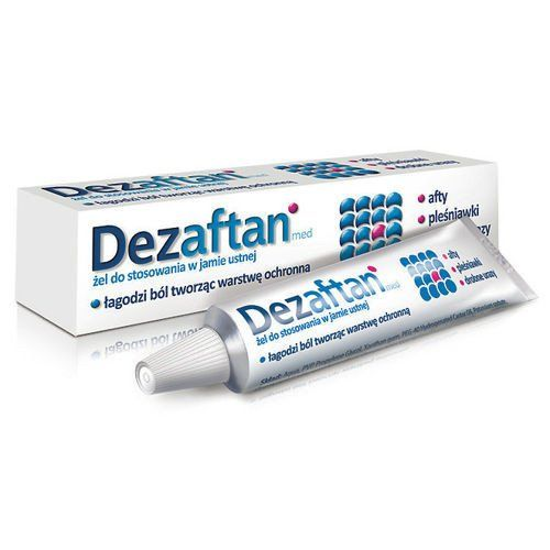 DEZAFTAN gel 8g mouth ulcer treatment
