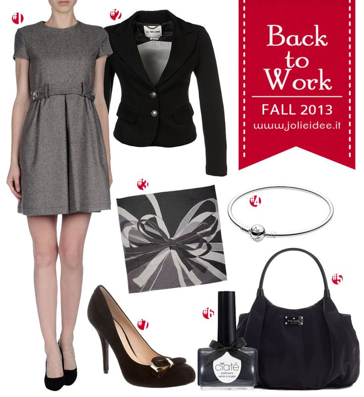 Back to Work Autunno 2013 - Outfit e Make Up Tutorial by Naked Basics #outfit
