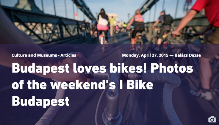 I BIKE BUDAPEST - pictu.res of the event