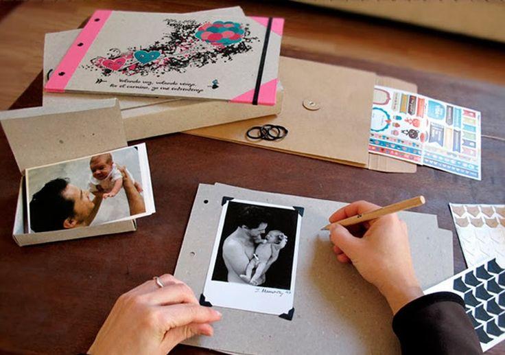 album fotos papel kraft - Buscar con Google
