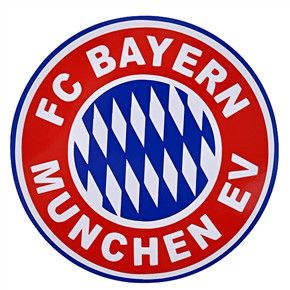 His favorite soccer club is Bayern Munich FC.  Is it possible to place a small version of their emblem on the cake? Maybe it can be on the portion that I will slice for him?