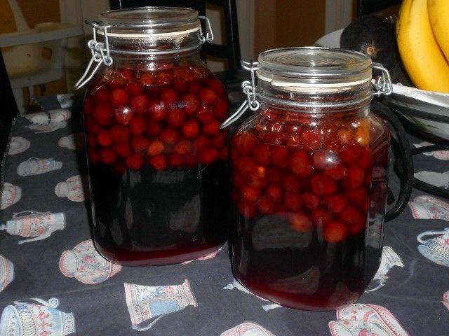 Licor de cerezas