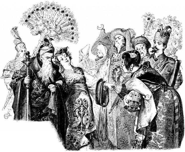 Иллюстрации к книге братья Гримм Сказки Иоганн Грот