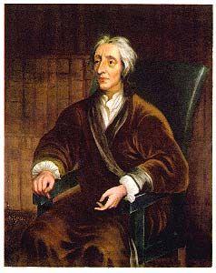 John Locke was een wetenschapper uit Oxford. Door de reizen die Europeanen maakten kwamen ze veel andere samenlevingen tegen. Hierdoor gingen geleerden ook aan hun eigen samenleving denken. Zo gingen mensen denken dat vorsten een goddelijk recht hadden. Locke was het daar niet mee eens, want hij vond dat iedereen van nature rechten had. Dat noemde hij de NATUURRECHTEN. Vorsten mochten het land besturen, maar als ze het fout deden mocht het volk in opstand komen.