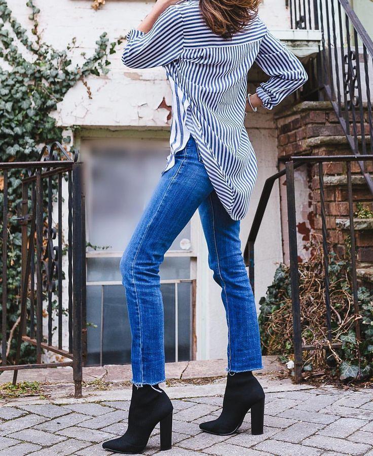 "69 Likes, 7 Comments - @la.vie.viana on Instagram: ""Denim Street 📸@oscarlandon . . . . . . #instastyle #classychic #fashionblogger #whatiwore #ootd…"""