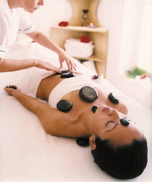 Hot stone massage Rocky Mountain Day Spa www.steamboatmassage.com #Steamboatsluxurydayspa