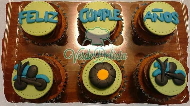 Cupcakes personalizados: sabor chocolate