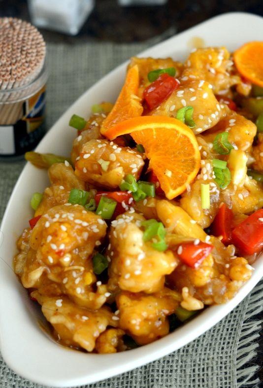 Orange cauliflower – a vegetarian's orange chicken