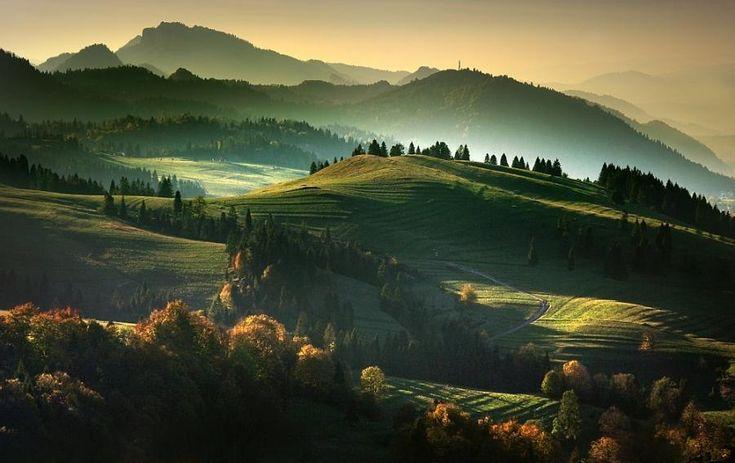 national park of pieniny slovakia