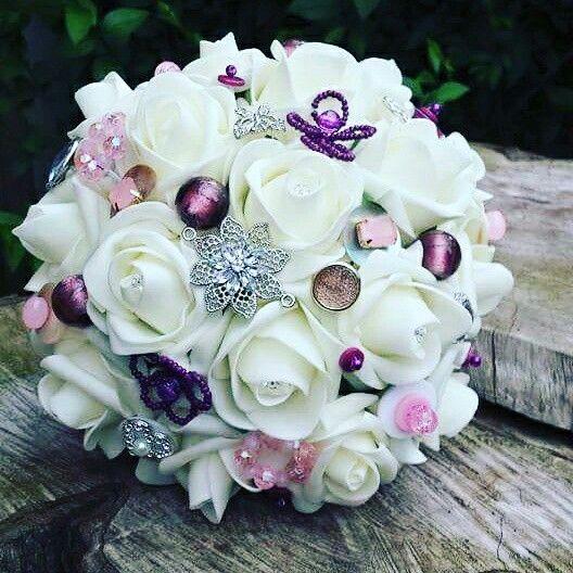 A wee bridesmaid bouquet www.dawniesweddingbouquets.co.uk.🌸