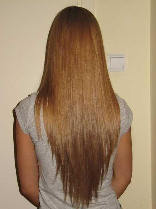 11.V Shape Haircut