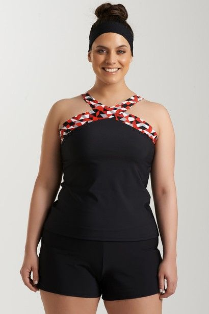 best 25+ plus size tankini ideas on pinterest | clothes for short