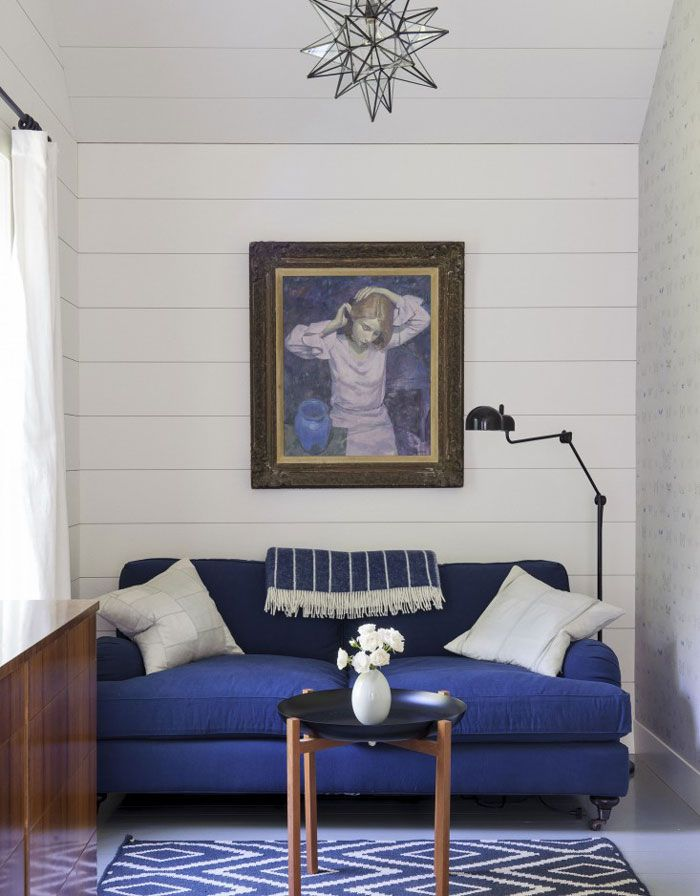 A Finnish stylist home in the Hamptons via Nordic Design.