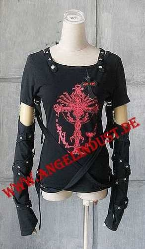 Longsleeve, Top, Shirt von Punk-Rave, Gothic Punk Rock Emo Visual Kei | eBay