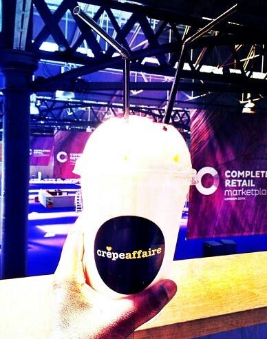 Crepe Affaire vanilla  #milkshake #yummy