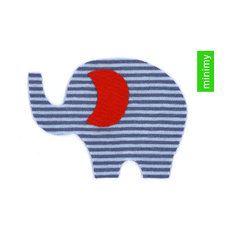 Applikation NACHMACHEN Elefant viele Farben