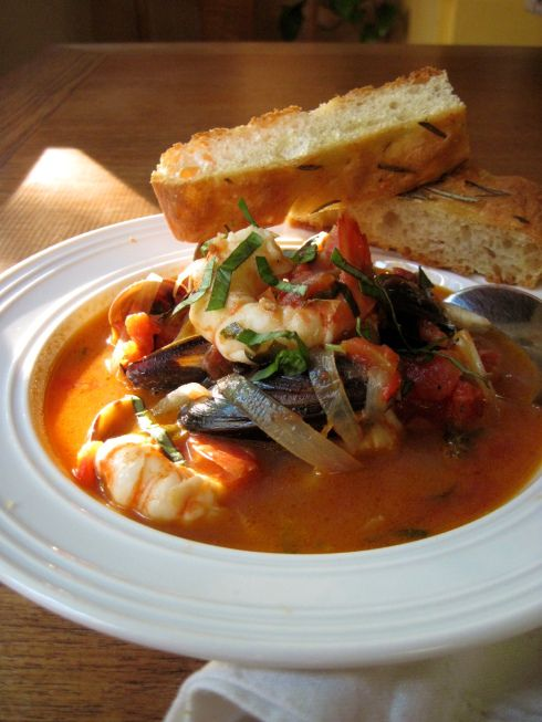 BC Spot Prawn Cioppino | Korena in the Kitchen