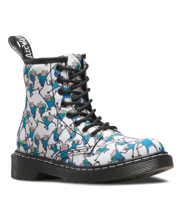 Another great find on #zulily! Adventure Time Finn Delaney Ankle Boot - Kids by Dr. Martens #zulilyfinds
