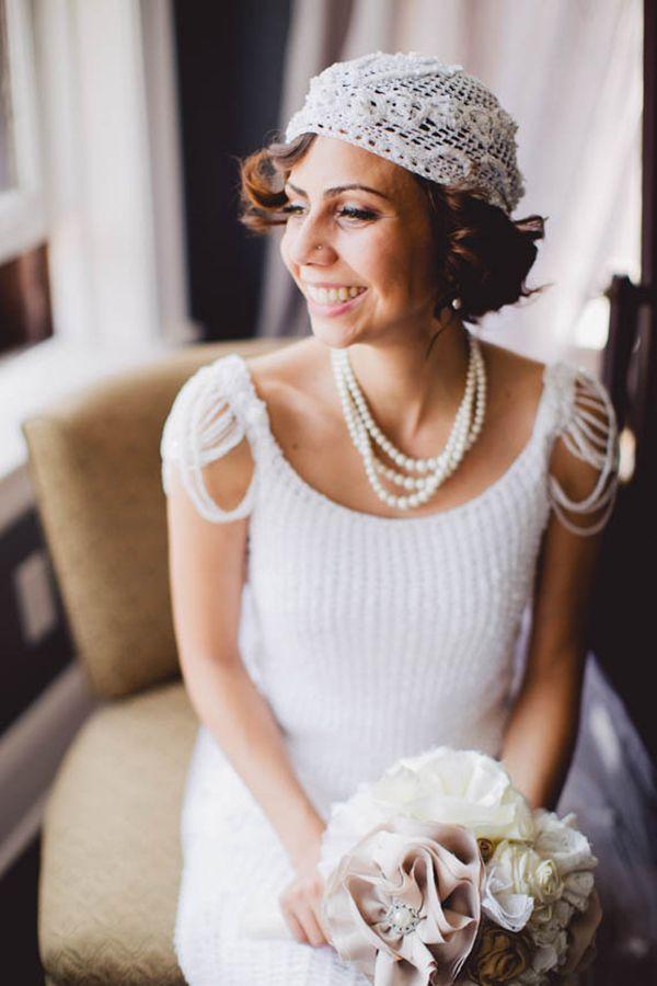 Casamento inspirado no Grande Gatsby | A noiva