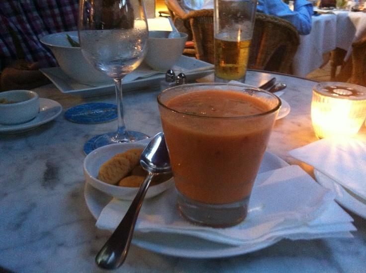 tomatsuppe - kold