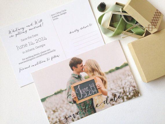 The 25 best Postcard wedding invitation ideas on Pinterest