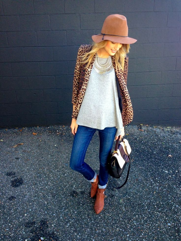 Little Blonde Book // Leopard Blazer | Ascot Friday X Matisse talon boot | #shopriffraff