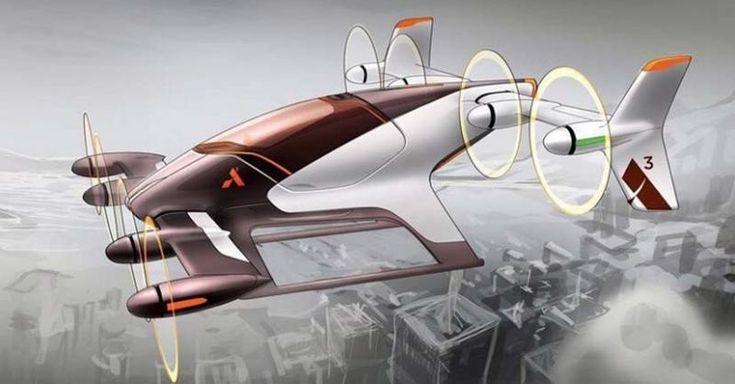 Vahana, taxiul zburator al lui Airbus.