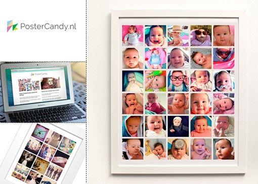 Vertel jouw verhaal met PosterCandy! PosterCandy.nl is dé manier om je digitale foto's te verzamelen en in een persoonlijke collage op maat ...