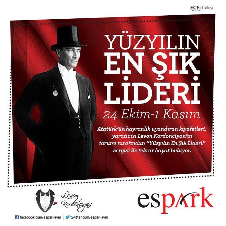 Yüzyılın Lideri'nin kıyafet sergisi #Espark'ta!