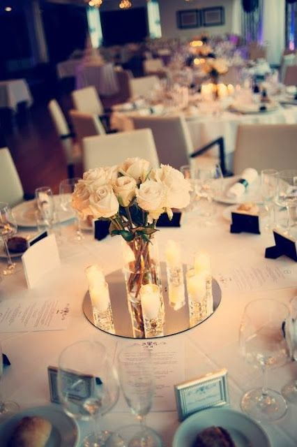 Best ideas about wedding table decorations on