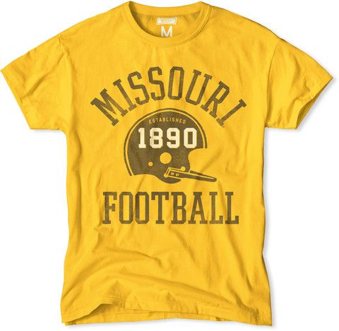Vintage Missouri Tigers Football T-Shirt. ON SALE. #MissouriTigers #CollegeFootball