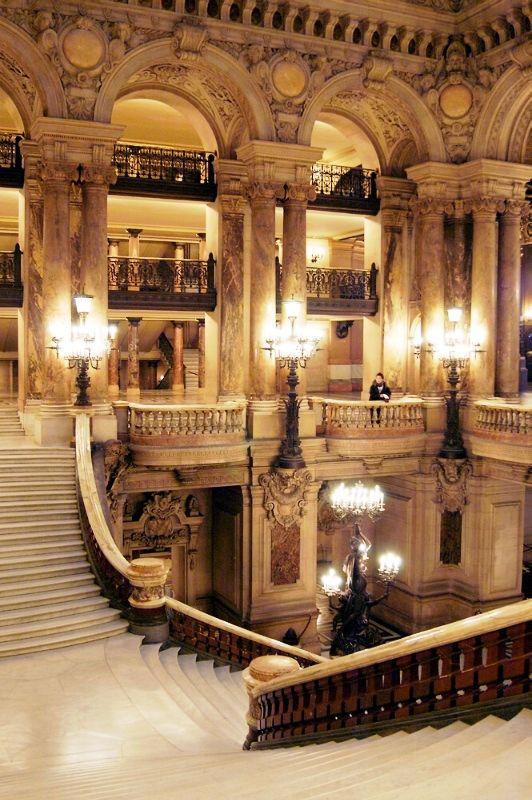 Palais Garnier Paris Opera House in Paris, France                              …
