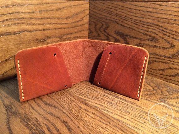 Mens leather wallet slim leather wallet Bifold wallet