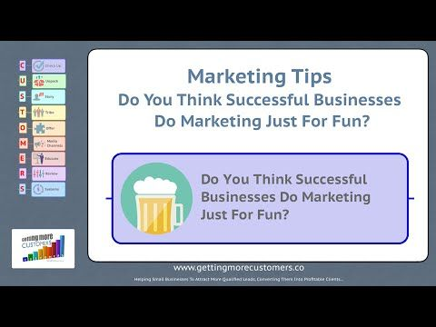 Small Business Marketing Tips - Your Marketing Checklist