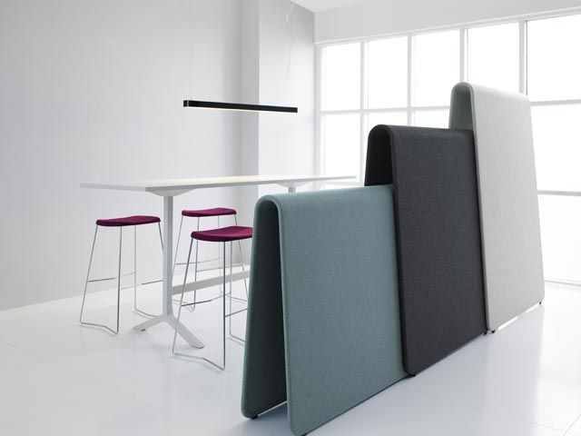 Alp screen   Mobile acoustic office screen