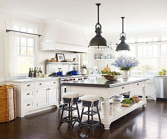 These kitchens will never go out of style.