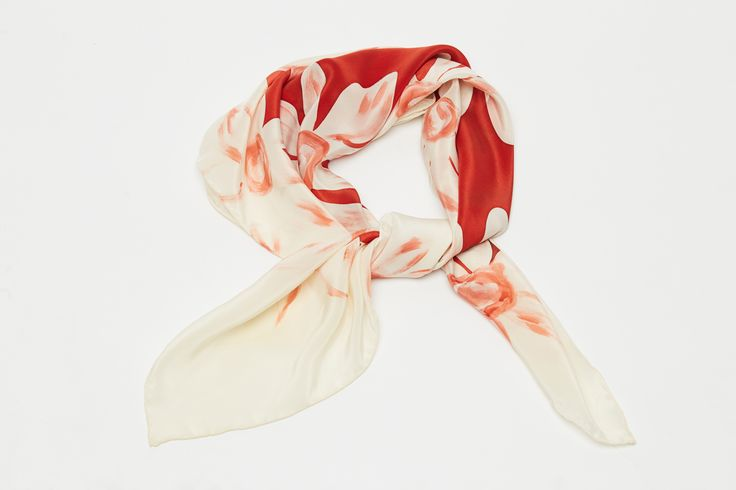#MagdaAtkins #MadeInPoland #SilkScarf
