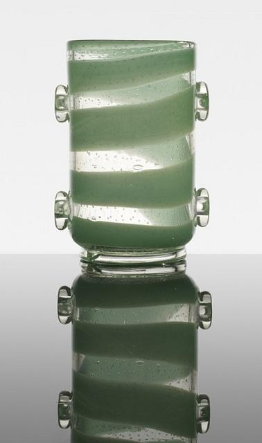 Contemporary Glass | Ercole Barovier, Con applicazioni vase, 1938