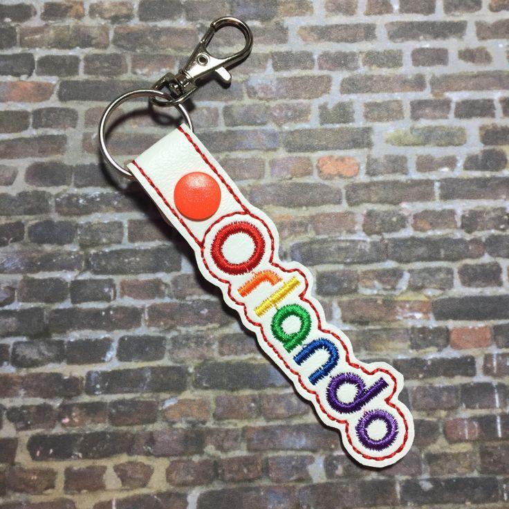 Orlando Strong Key Fob. KeyChain. Fund Raiser