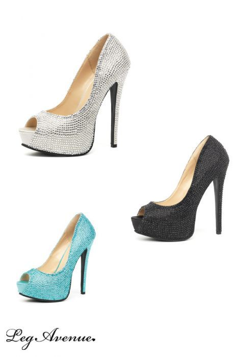 available  Burlesque Shoes GLAMOUR - Turquoise