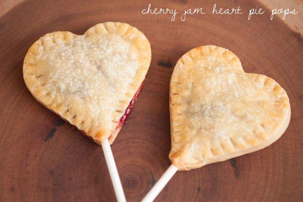 Mini Heart-shaped pies