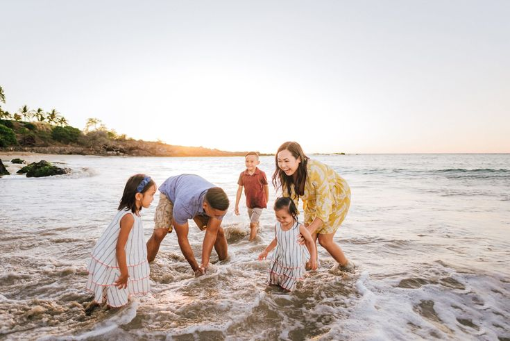 Family Vacation Photography, Mauna Kea Beach, Big Island Hawaii – Wilde Sparrow Photography Co | Big Island Hawaii Family and Couples Photographer