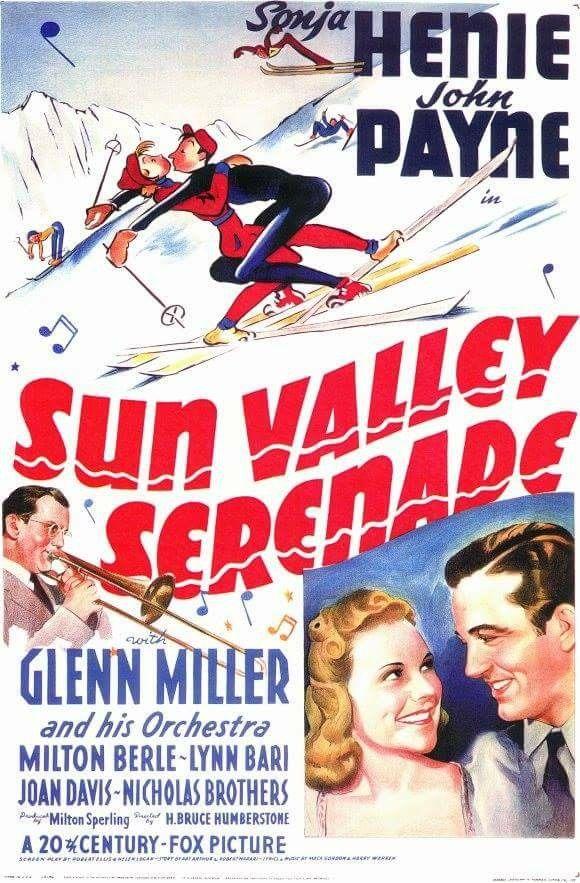 Sun Valley Serenade (1941) Sonja Henie, John Payne