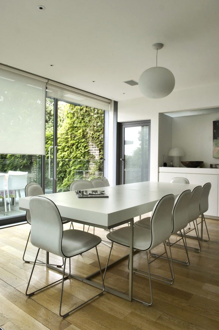 What a brilliant example of sheer roller blinds. This is the best photo I have found. We have a huge selection of sheer and voile roller blinds at http://www.lifestyleblinds.com/sheer-screen-roller-blinds/