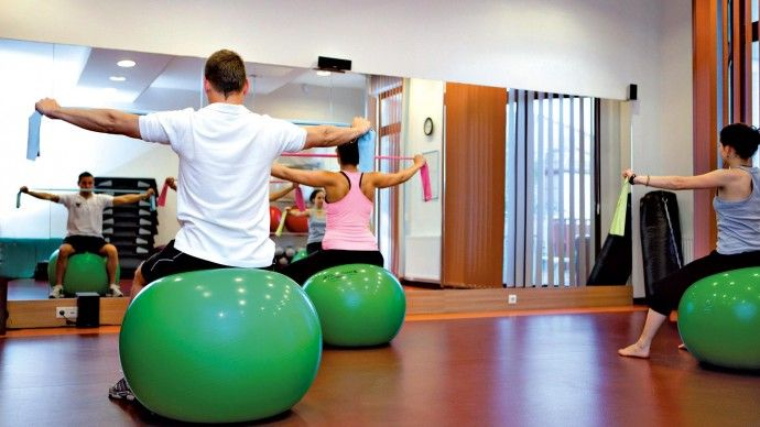 Greenfield Hotel Golf & Spa - Ungheria. Palestra con sala aerobica, bar-wellness e giardino termale #fitness #benessere #vacanze #sport https://www.spadreams.it/offerte/ungheria/ungheria-occidentale/bad-buek/greenfield-hotel-golf-spa/?t=7&dmin=3
