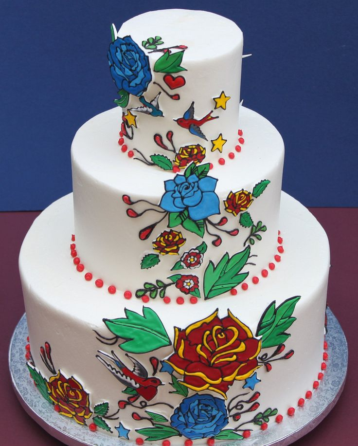 tattoo wedding cake 38 best images about pin up cake on 20764