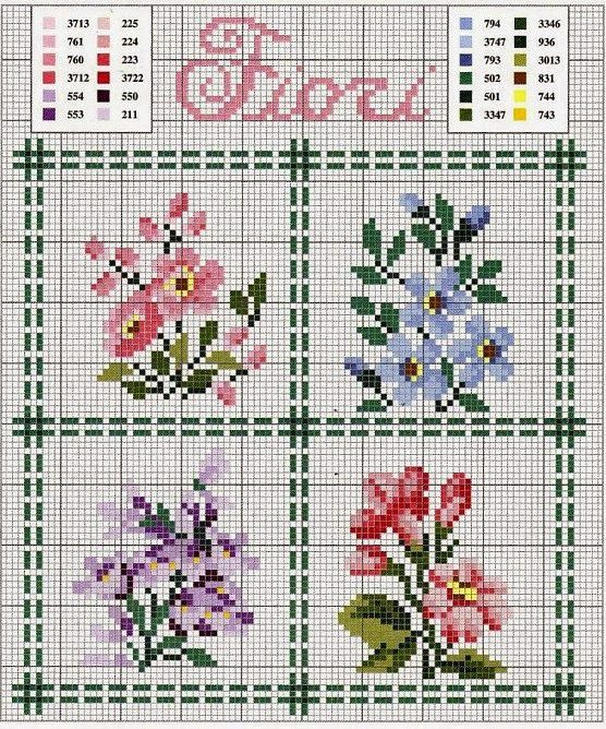 """666.jpg (556×668) [   """"More of my finished cross stitch [ """"More of my finished cross stitch [] # # # # # # # # # """"More of my finished cross stit   Hassie Shelton"""" ] # # # # # # # # # #"""",   """"EMBROIDERY – CROSS-STITCH / BORDERIE / BORDUURWERK – FLOWER / FLEUR / BLOEM - miniature needlework chart"""",   """"""""Wildflowers"""" -- (scroll down to bottom of page) lots of colours required :("""",   """"pinterest coasters cross stitch charts   cross stitch chart"""",   """"cross stitch flowers"""",   """"Lovely heart things..."""