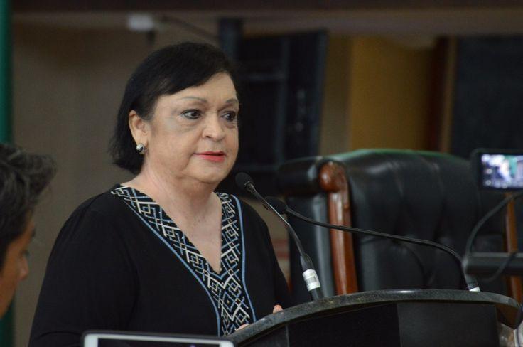 <p>Chihuahua, Chih.- Esta tarde la diputada de la fracción parlamentaria del partido tricolor, Isela Torres Hernández negó exista un gobierno